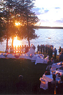 Wedding at Sunset Bay Resort - Lake Kagawong - Manitoulin Island